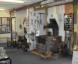 Inside Leigh Heritage Centre